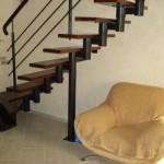 лестница цвет черный матовый