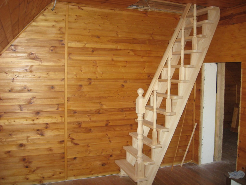 Фото лестница на второй этаж частного дома своими руками