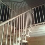 модульная лестница в деревянном доме